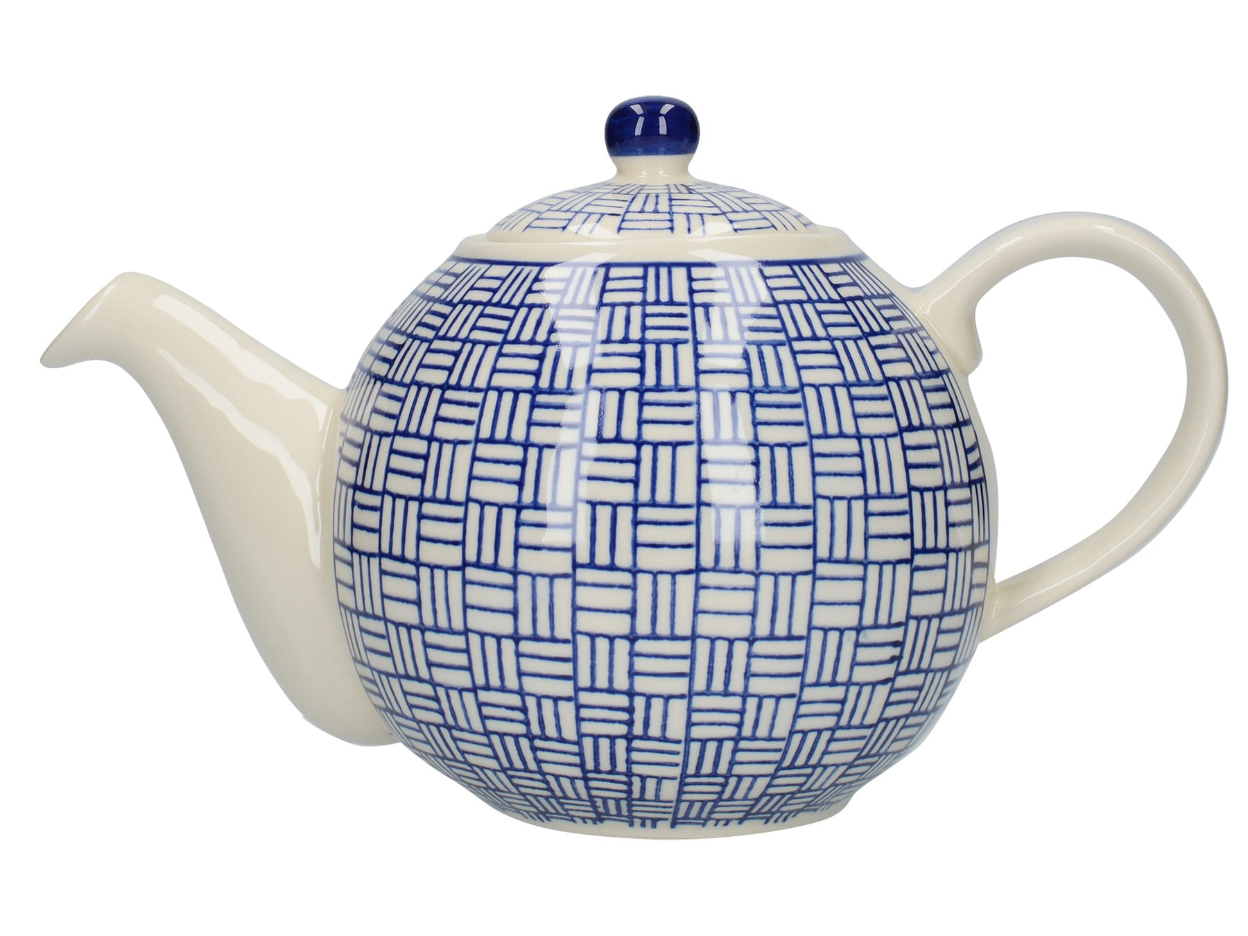 London Pottery Globe 4 Cup Teapot Lattice