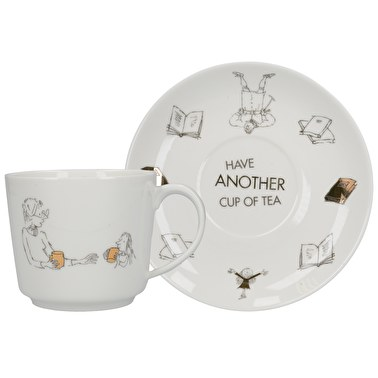 Roald Dahl Matilda Phizz-Whizzing Tea Cup And Saucer