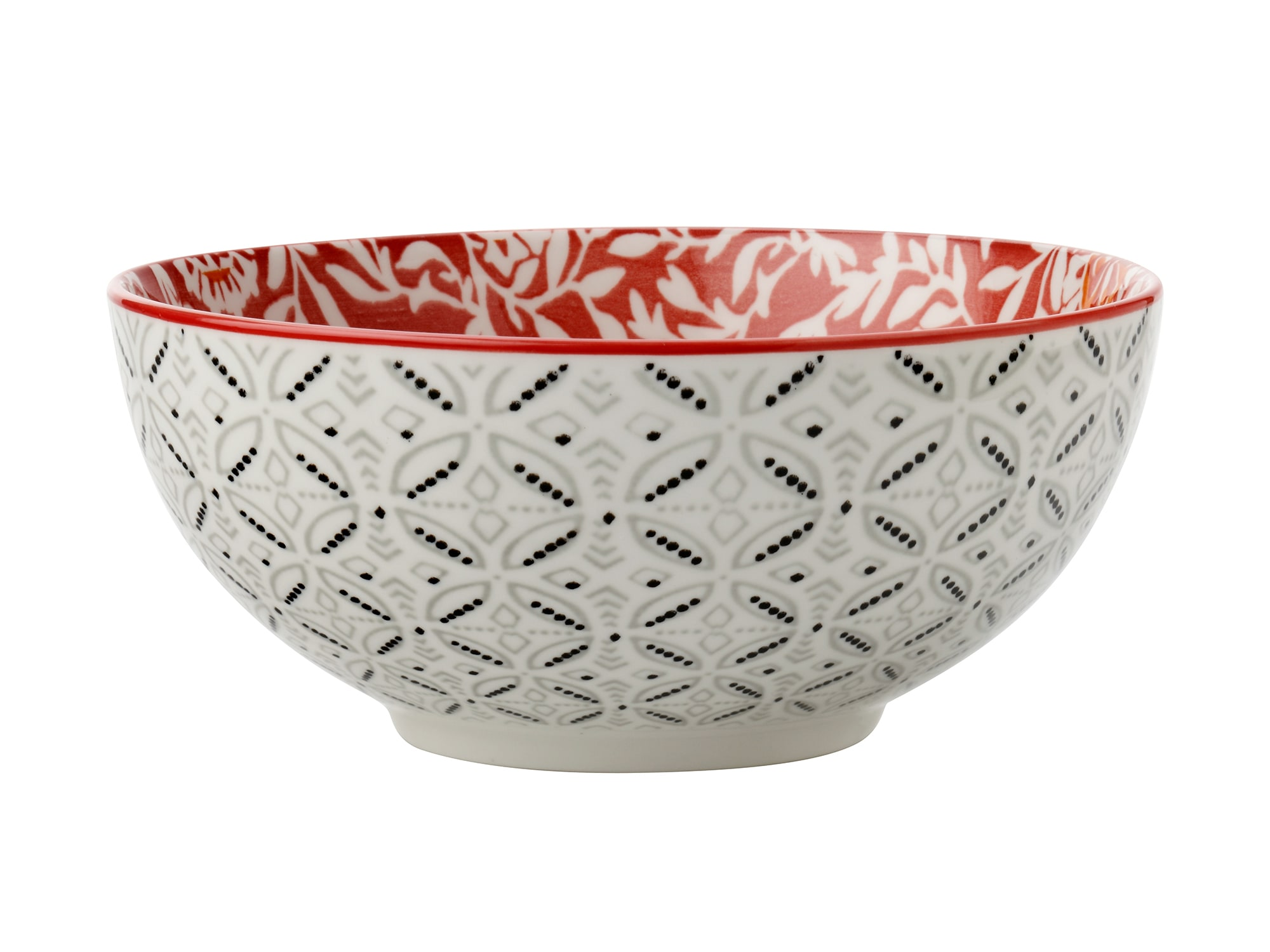 Maxwell & Williams Boho 12.5Cm Bowl Damask Red