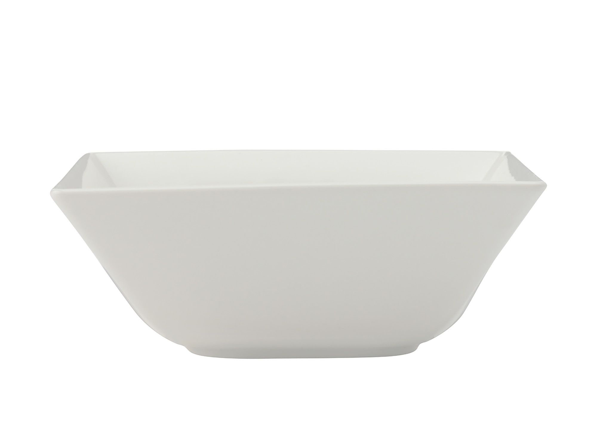 Maxwell & Williams White Basics Linear 13Cm Square Bowl