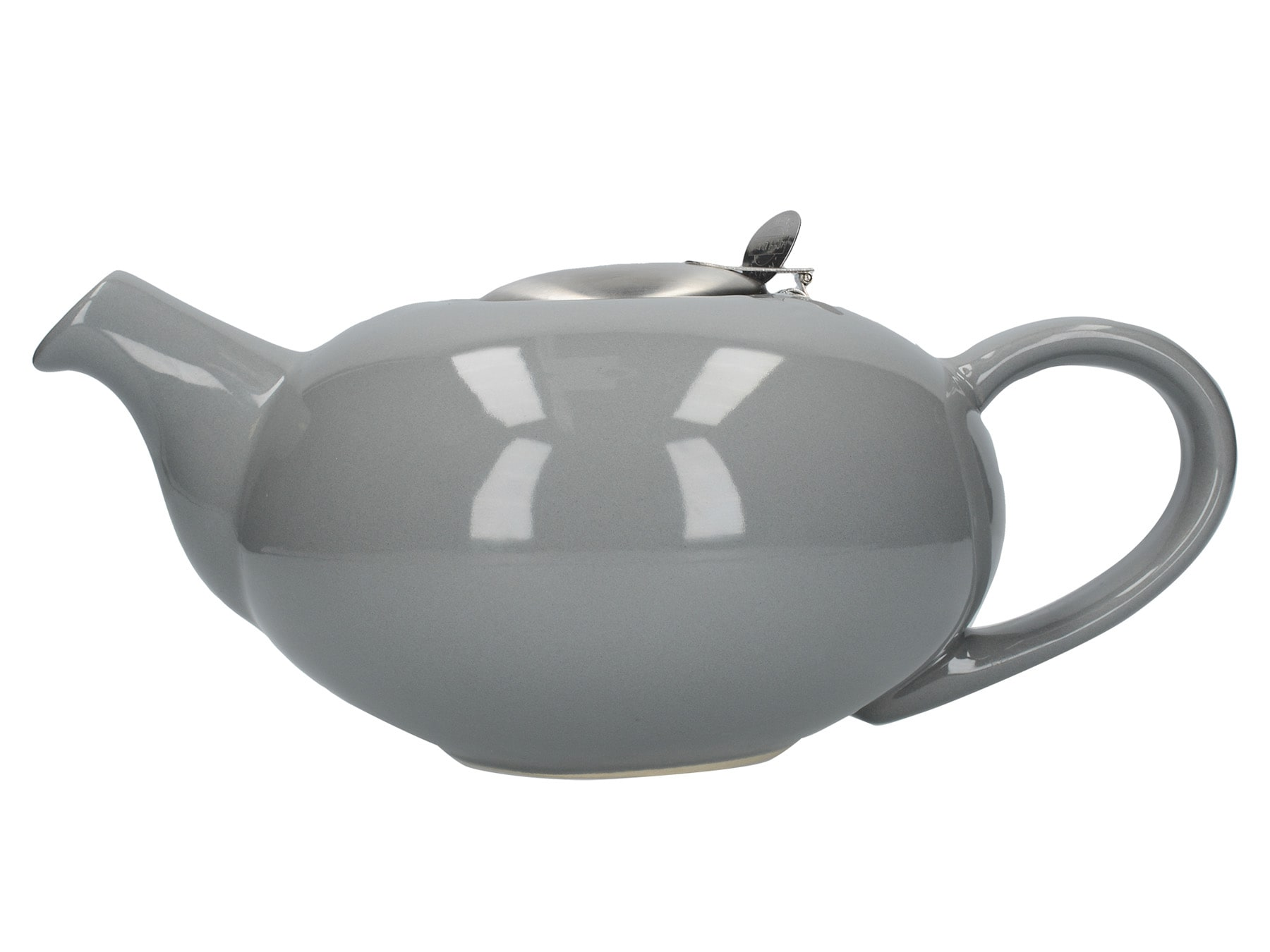 London Pottery Pebble Filter 4 Cup Teapot Light Grey