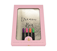 Creative Tops Ava & I Notebook And Lipstick Highlighter Gift Set