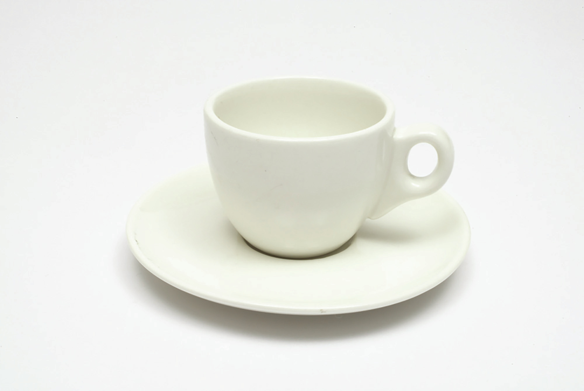 Maxwell & Williams White Basics 80Ml Demi Cup And Saucer
