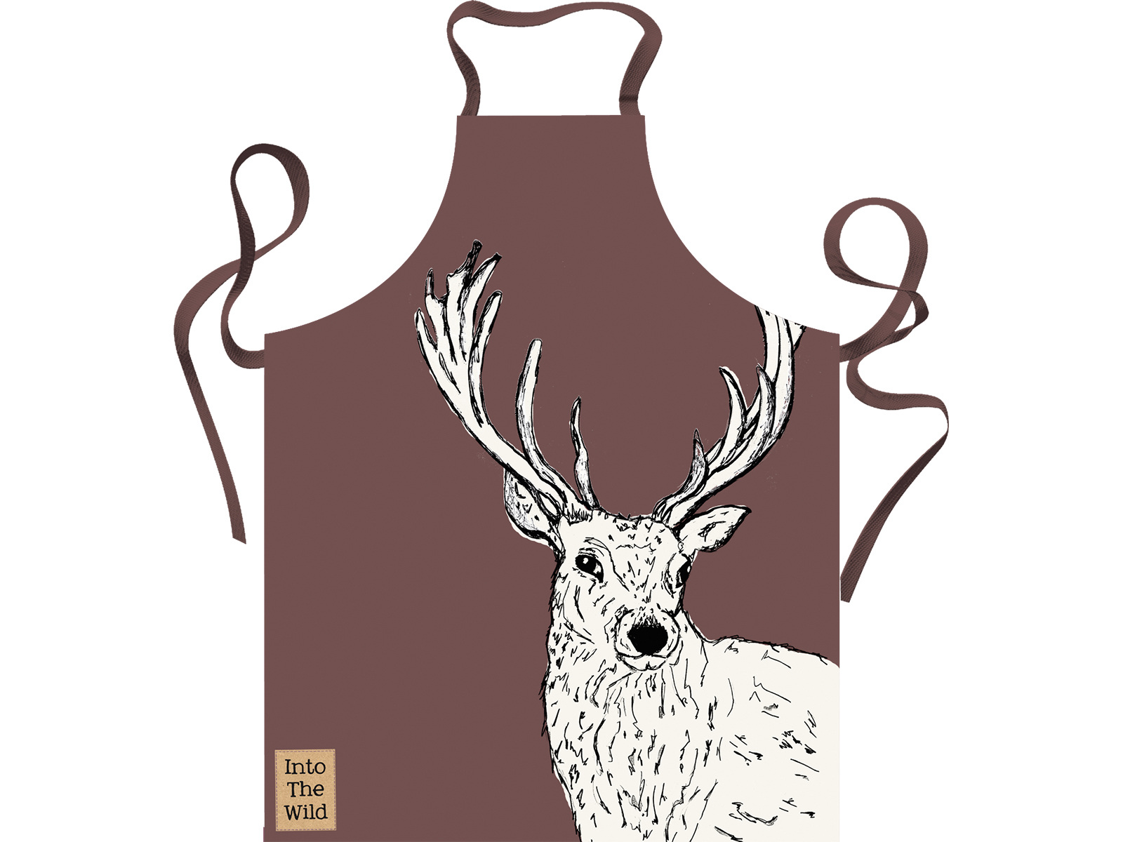 Creative Tops Into The Wild Stag Apron