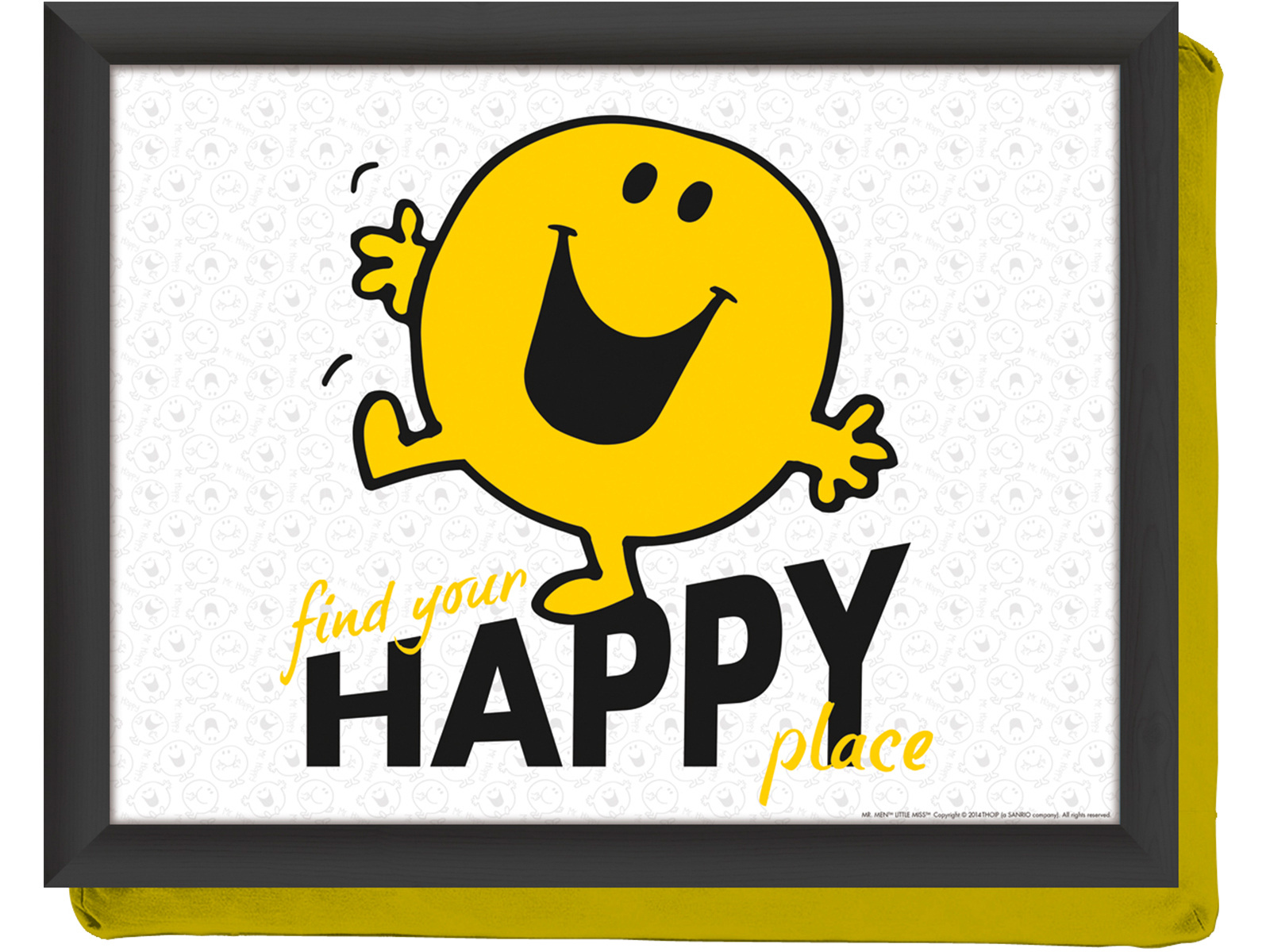 Mr Men Mr Happy Laptray