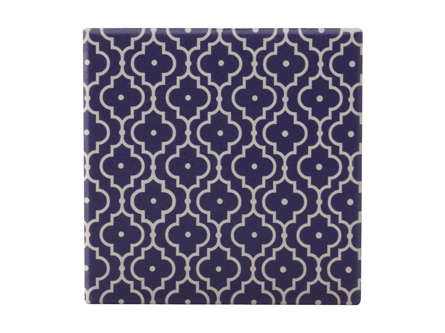 Maxwell & Williams Medina Taza 9Cm Ceramic Square Tile Coaster