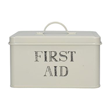 Creative Tops Stir It Up First Aid Tin White