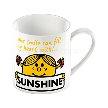 Mr Men Little Miss Sunshine Can Mug