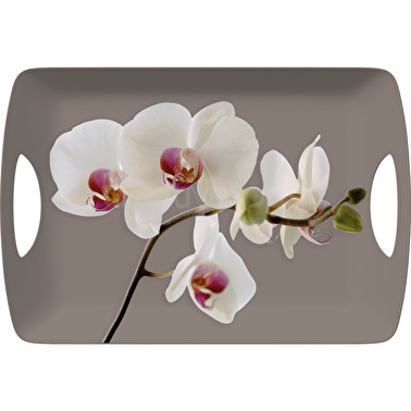 Creative Tops Orchid Harmony Large Luxury Handled Tray