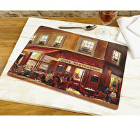 Everyday Home Evening Cafe Pack Of 2 Large Placemats