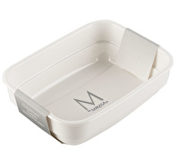 M By Mikasa Whiteware Tea Bag Condiment Cady