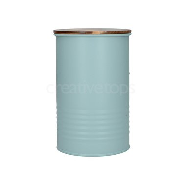 Creative Tops Feather Lane Storage Tin Blue