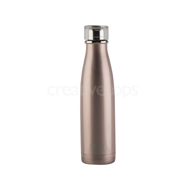 Built 17oz Double Walled Stainless Steel Water Bottle Rose Gold