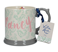 Katie Alice Blooming Fancy Slogan Tankard Mug