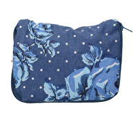 Katie Alice Vintage Indigo Cotton Foldaway Bag