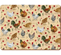 Everyday Home Chicken Pack Of 4 Placemats