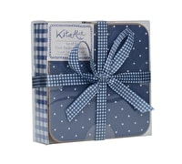 Katie Alice Vintage Indigo Pack Of 6 Premium Coasters