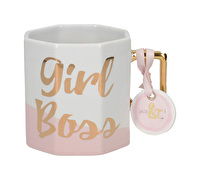 Creative Tops Ava & I Octagonal Mug Girl Boss