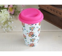 Everyday Home Ditsy Floral Travel Mug