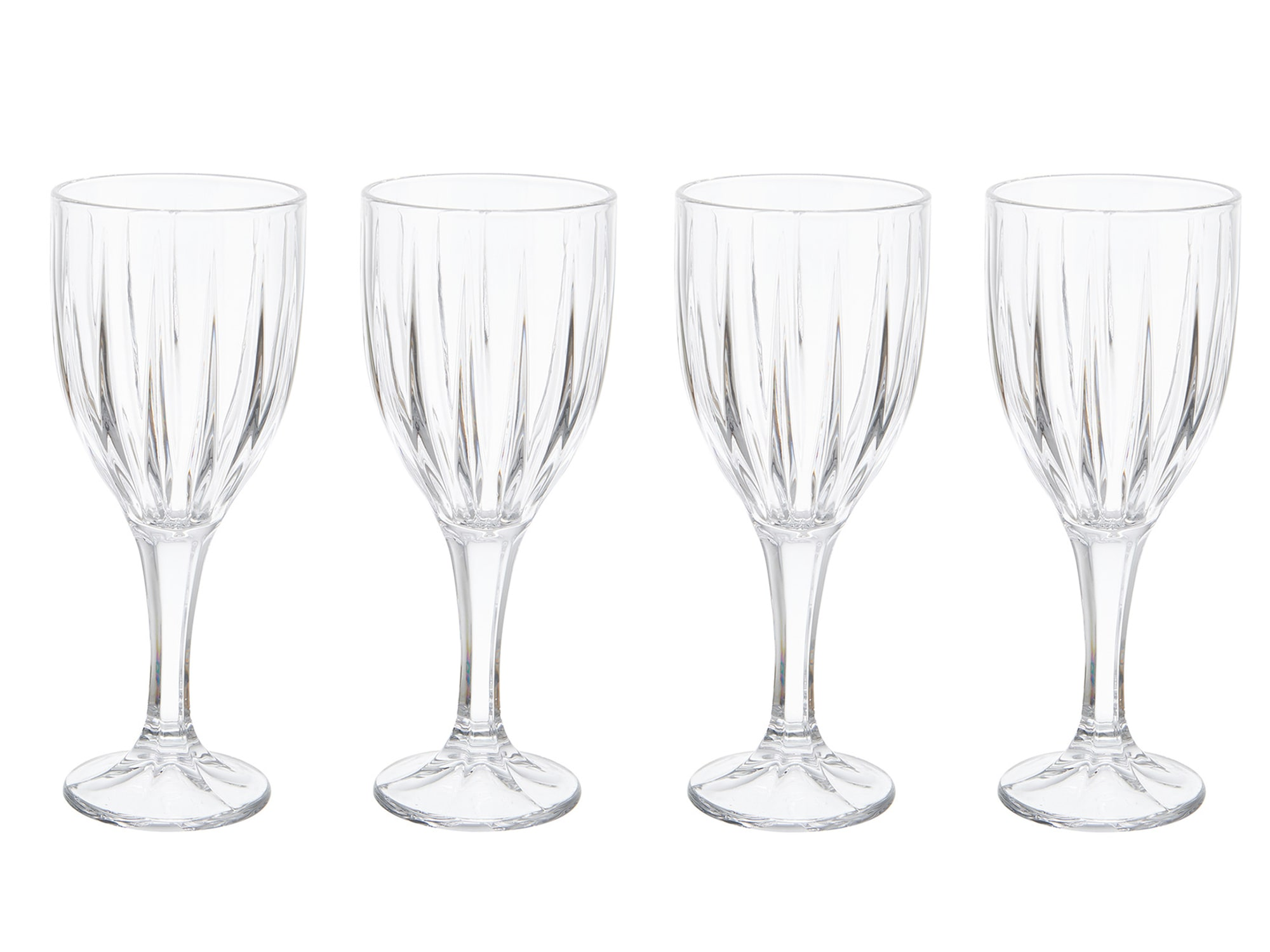 Mikasa Revel Set Of 4 9Oz Goblets