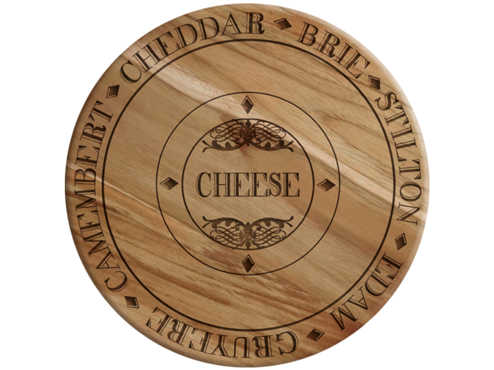 Creative Tops Gourmet Cheese Wooden Cheese Board