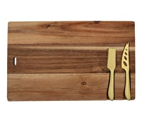 Creative Tops Gourmet Cheese Acacia Board And Knife Set