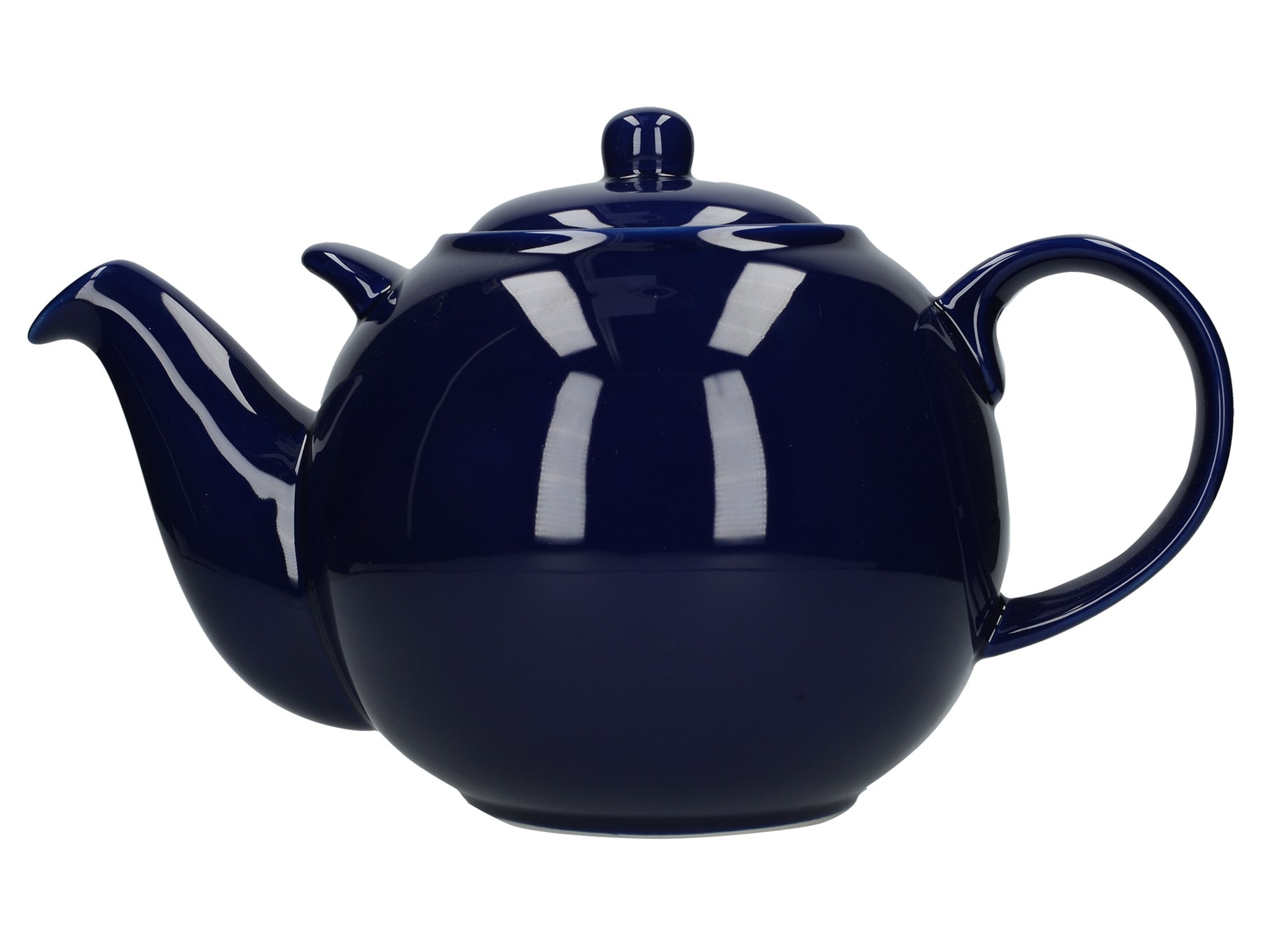 London Pottery Globe 10 Cup Teapot Cobalt Blue