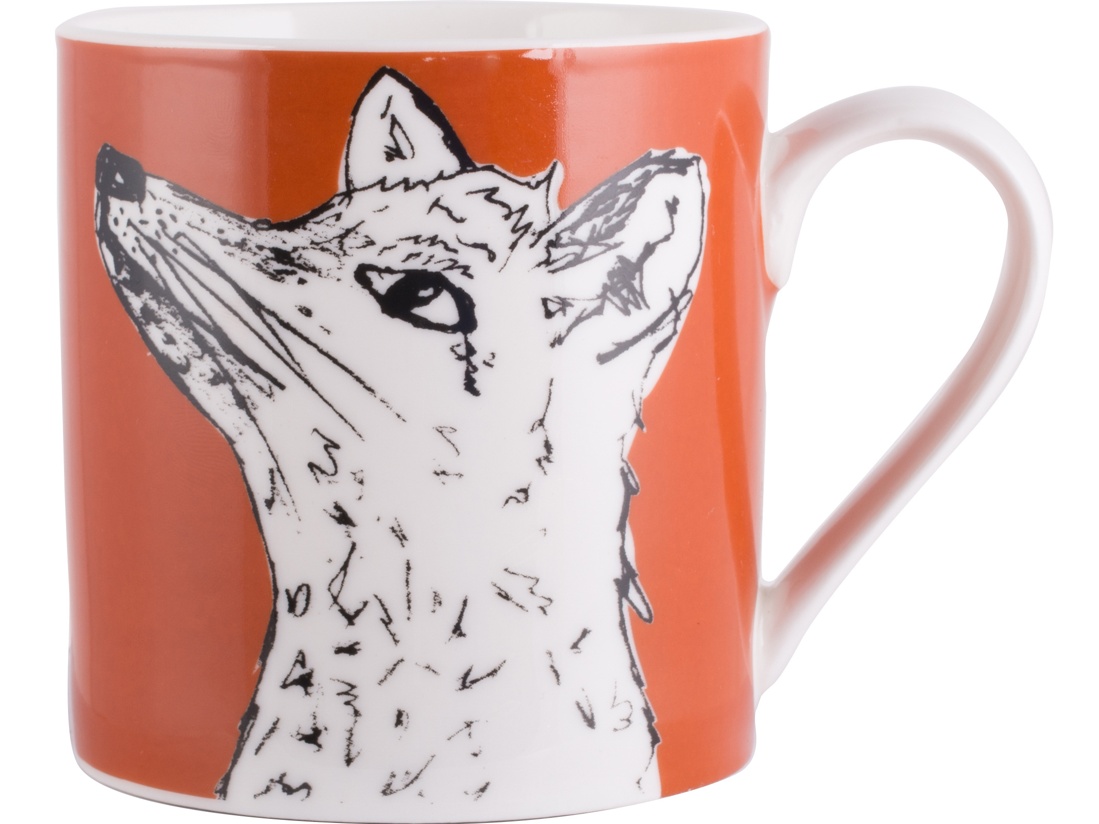 Creative Tops Into The Wild Fox Can Mug