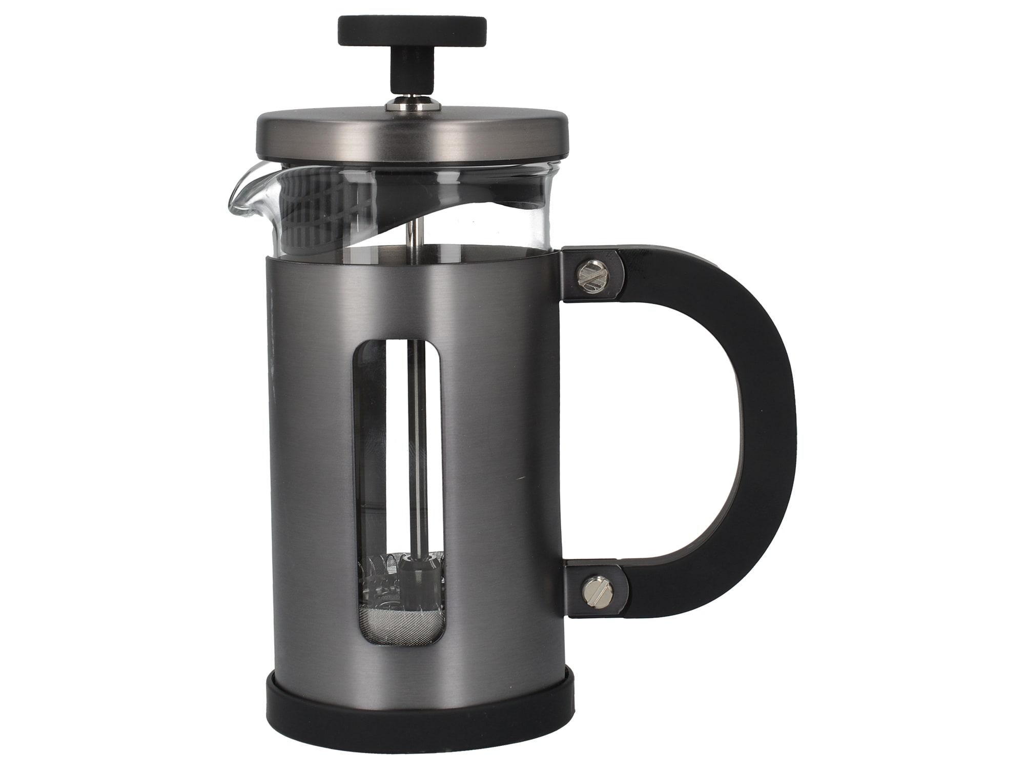La Cafetiere Edited 3 Cup Pisa Cafetiere Fun Metal Grey