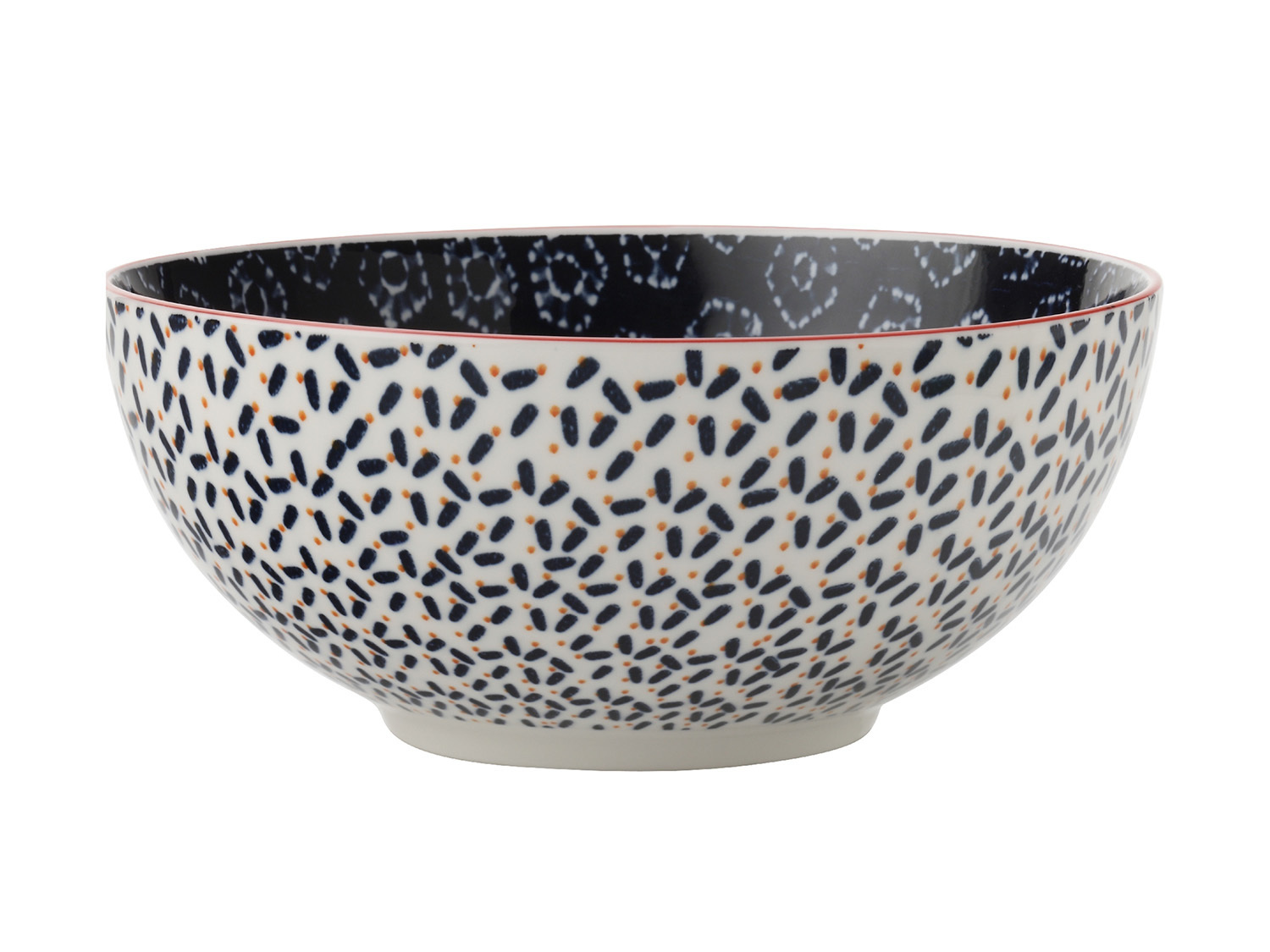 Maxwell & Williams Boho 12.5Cm Bowl Shibori Navy