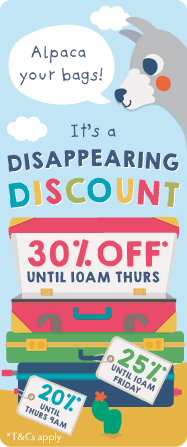 Disappearing Discount - 30% Off
