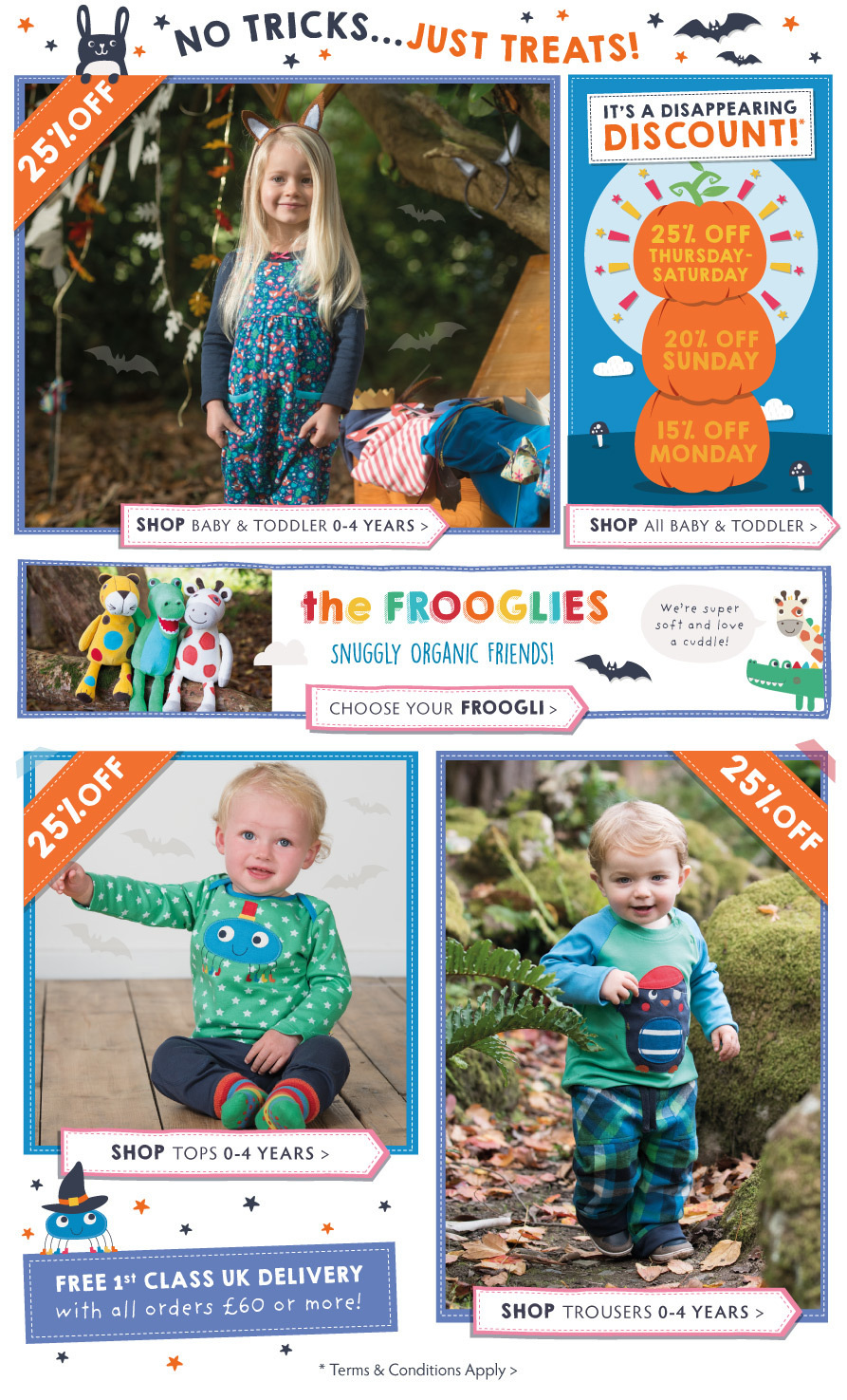 Baby & Toddler - Disappearing Discount