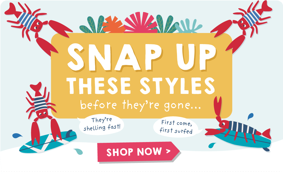Snap up these styles before they're gone...