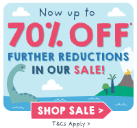 Now up to 70% off further reductions in our sale!