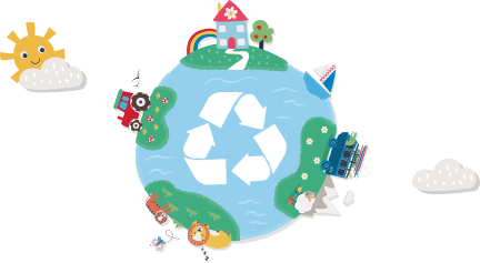 Reduce, Reuse,Recycle!