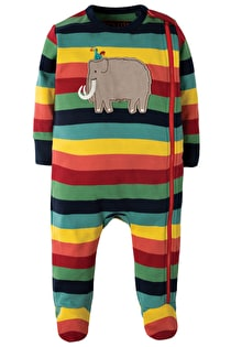Cute Zipped Babygrow