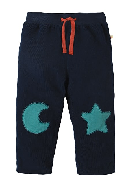 Little Cord Patch Trouser
