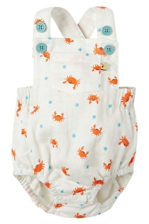 Mabel Muslin Dungaree