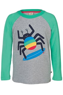 Rock Raglan Applique Top