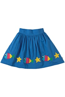 St Mawes Embellished Skirt