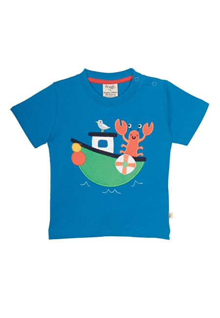Little Wheels Applique T-shirt