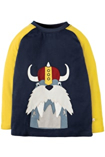 Jake Applique Raglan Top