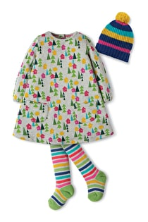 Becky Dress Gift Set with Blizzard Hat