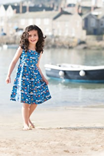 Porthcurno Party Dress