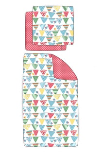 UK Cot Bed Set