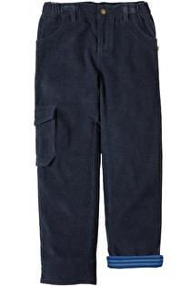 Lined Cord Combat Trousers