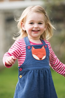 Doris Dungaree Dress