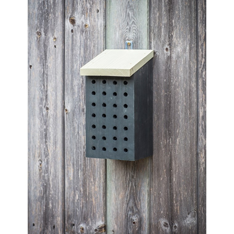 Wooden Orkney Wild Bee House | Garden Trading