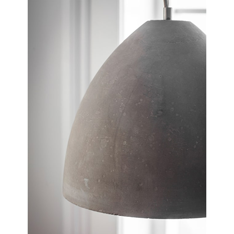 Large Concrete Millbank Indoor Pendant Light | Garden Trading