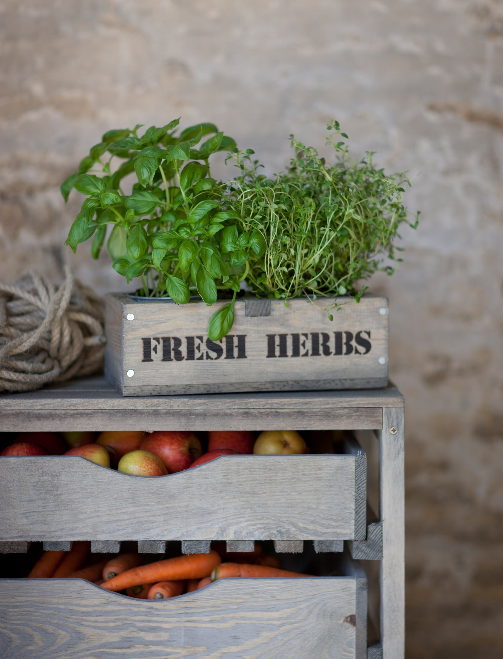 Wooden Colworth Herb Box   | Garden Trading